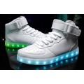 led light running shoes men